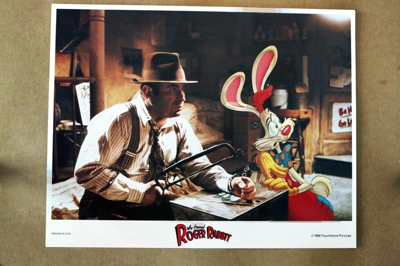 Who Framed Roger Rabbit 1988 Key Original Lobby Card X Marks The Shop