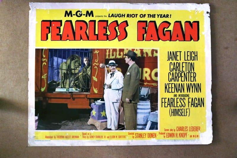 Fearless Fagan 1952 Original Lobby Card