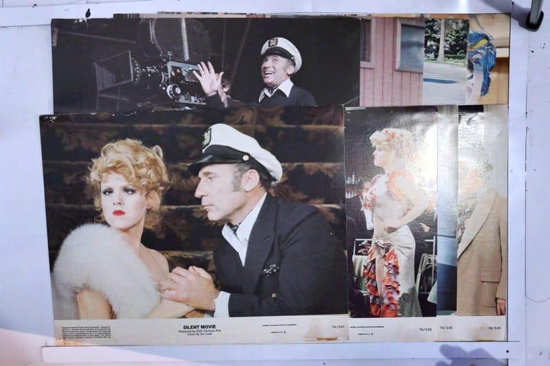 Silent Movie 1976 Original Lobby Card Set Of 8 X Marks The Shop
